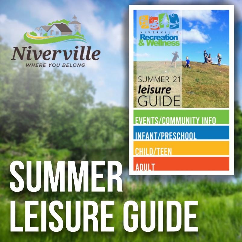 Niverville Summer Leisure guide